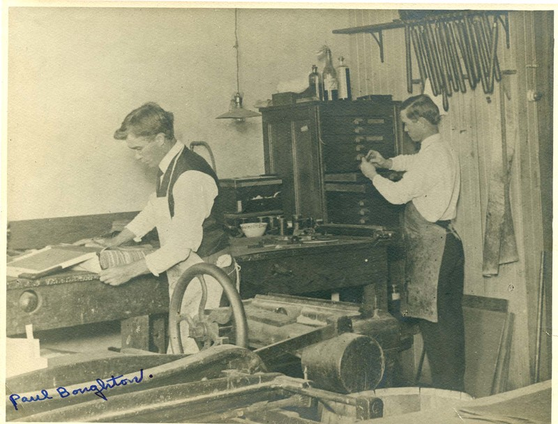 J.S. Boughton's Printing Office