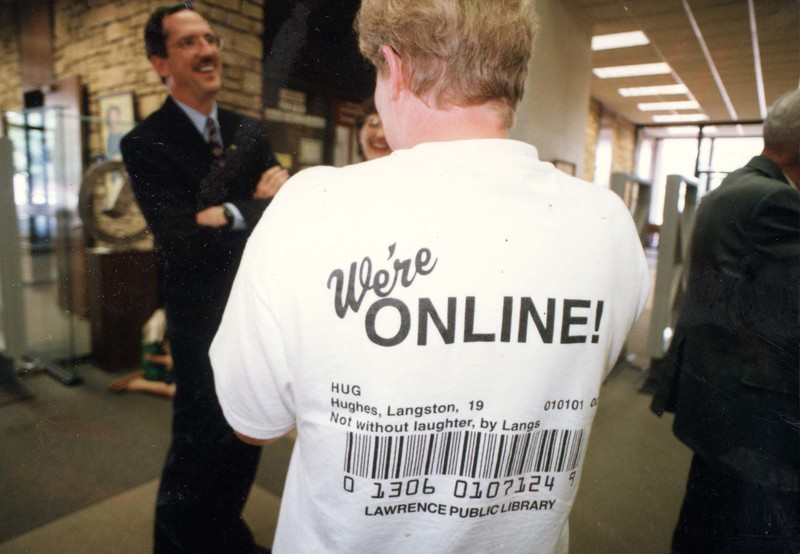 Launching of the Online Catalog, 1996