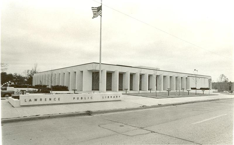 New Library Exterior, 1972