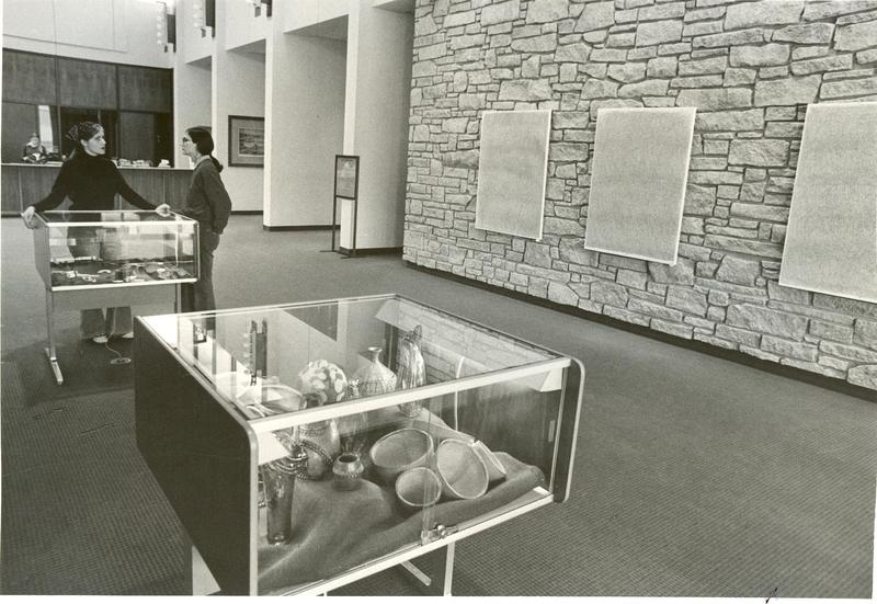 New Library Interior, 1972