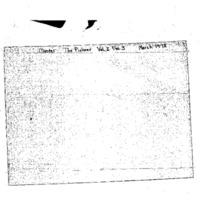 The Pioneer, Vol. 1, No. 3: March 1978