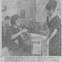 New Reference Service, 1965