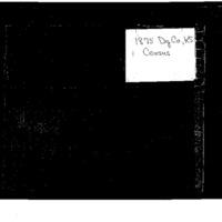 1875 Douglas County, Kansas, Census