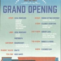 Grand Opening Program, 2014