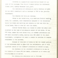 Lawrence Public Library Annual Report, 1917