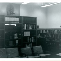 Reference and Art Room, August 1972