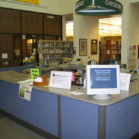 Library Checkout Desk