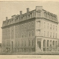Picture of the Lawrence National Bank Building, 1895