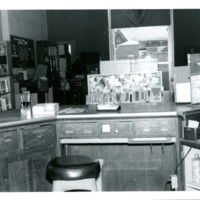 View from the Circulation Desk, August 1972