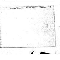 The Pioneer, Vol. 3, No. 1: Summer 1979