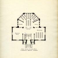 Floorplan of the Original Carnegie Library