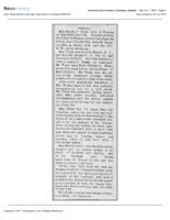 Obituary for Rhoda J. Trask, 1890