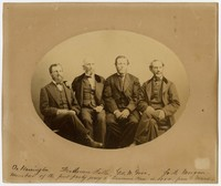 Members of First Party Going to Lawrence in 1854